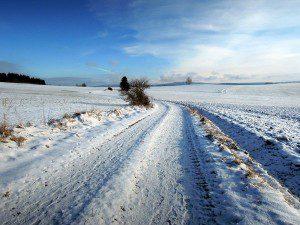 Frische Luft beim Winterlauf