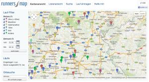 Runnersmap.org Laufveranstaltungen