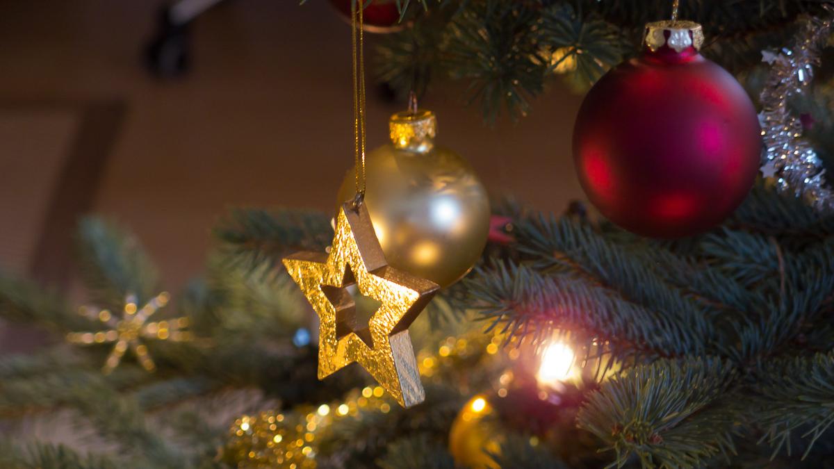 gedopt unterm Weihnachtsbaum