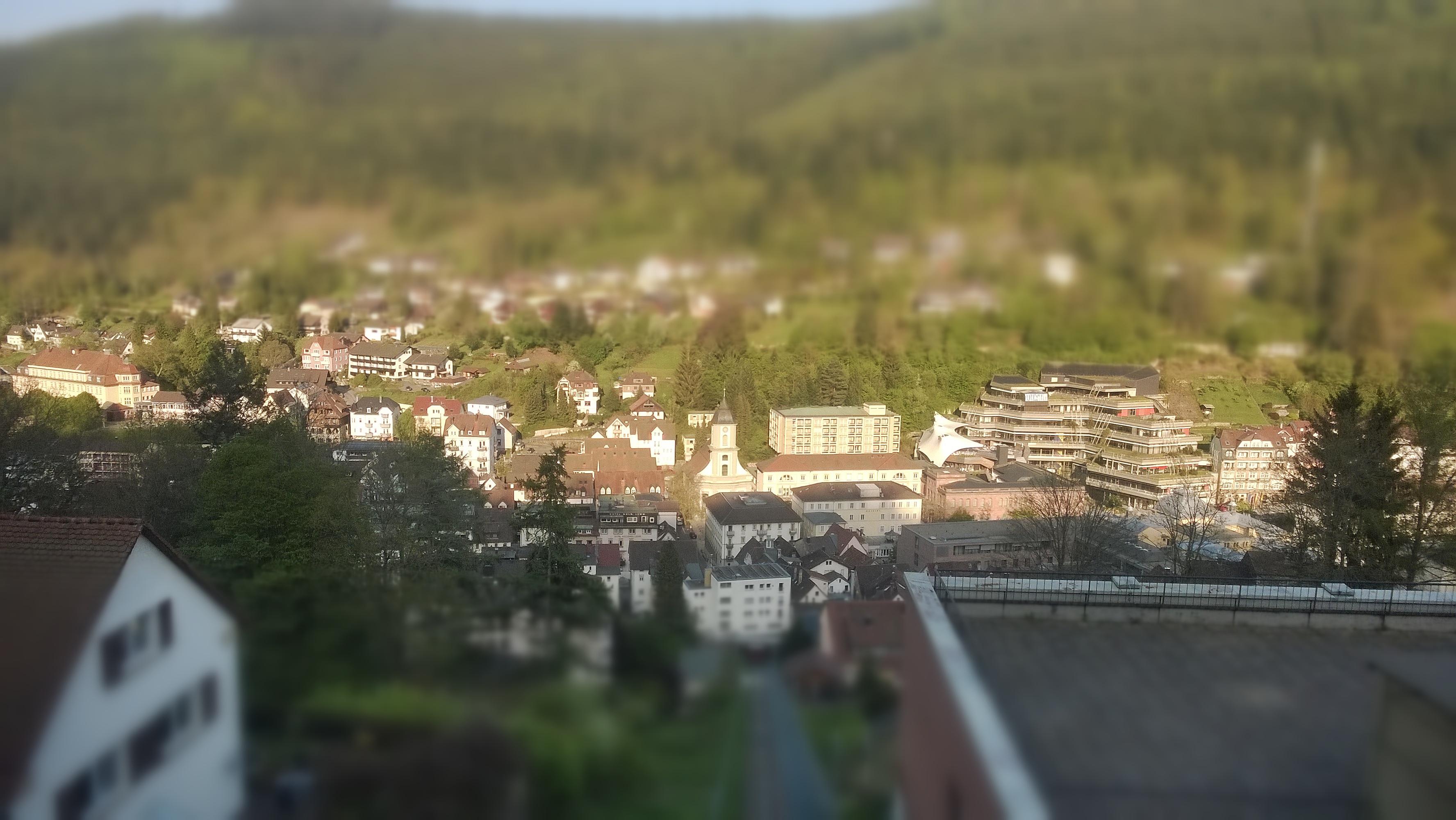 Bad Wildbad, Schwarzwald, Tal