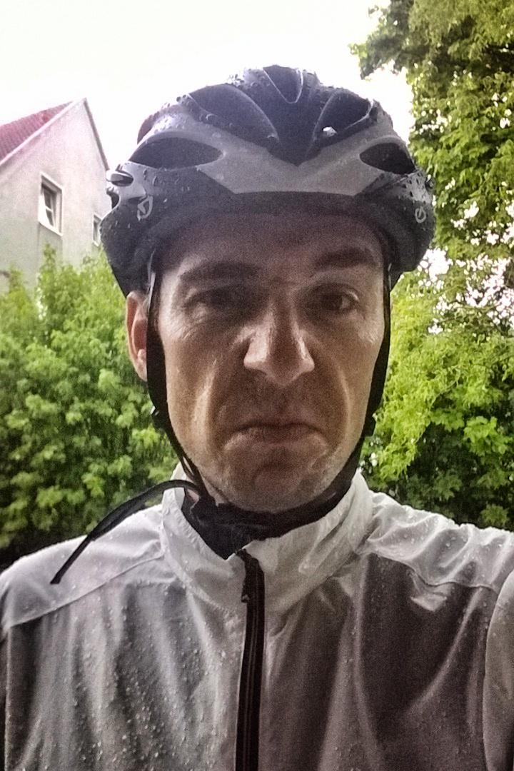 grumpy roadbike rider