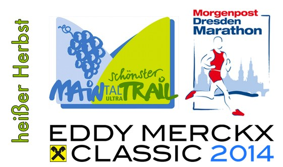 Herbsthighlights, Planung, Eddy Merckx Classics, Maintal Ultratrail, Maintal Trail, Morgenpost Marathon, Halbmarathon