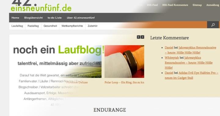 42.einsneunfünf.de, endurange, blog, laufblog, sportblog,