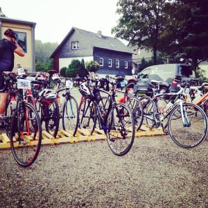 Lehesten, Frankenwald Radmarathon, RTF