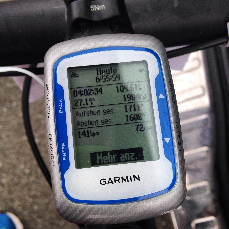 Frankenwald Radmarathon, RTF, Edge, Garmin