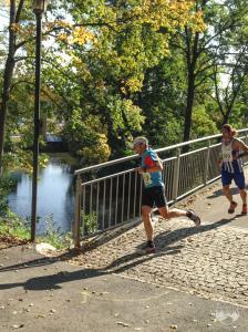 Ziel, Park & See Lauf Hof, Volkslauf, 10km, laufen