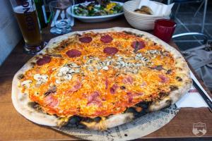 L'Osteria, Pizza, Carboloading, Dresden Marathon,