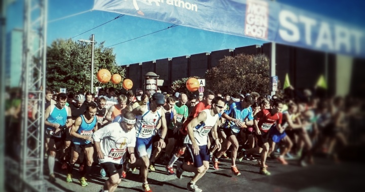 me myself & the marathon