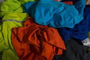 Sportklamotten waschen,  Funktionsbekleidung