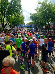 Maisels Funrun 2015, Halbmarathon, Läufer, Laufen, Wettkampf