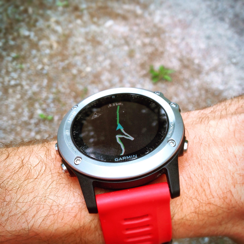 Garmin Fenix 3, Smartwatch, GPS, Laufuhr, Review, Test, Navigation, Wurmnavigation