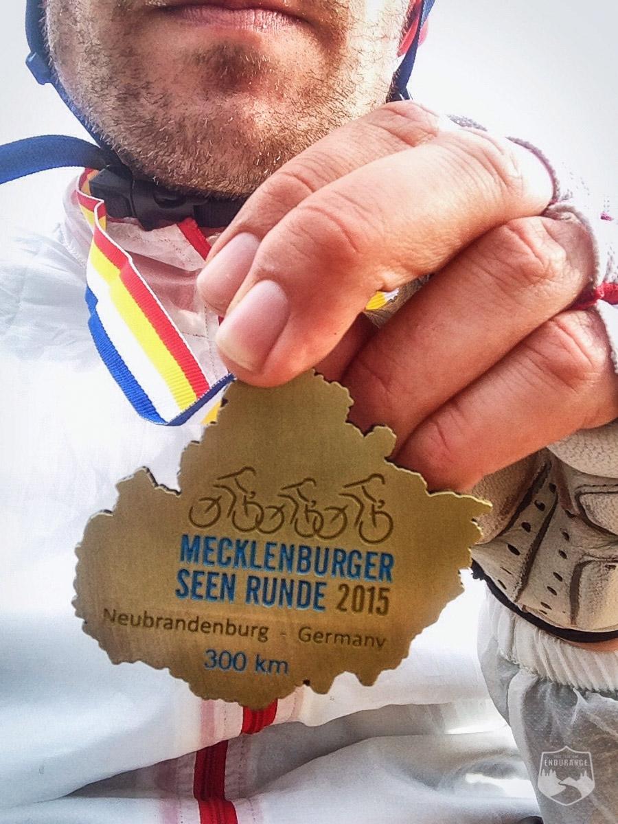 Medaille, Finisher, Ziel, Zieleinfahrt, MSR300, Neubrandenburg
