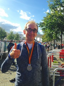 Berlin Marathon, Finisher, erster Marathon, Brandenburger Tor, Berlin, Medaille