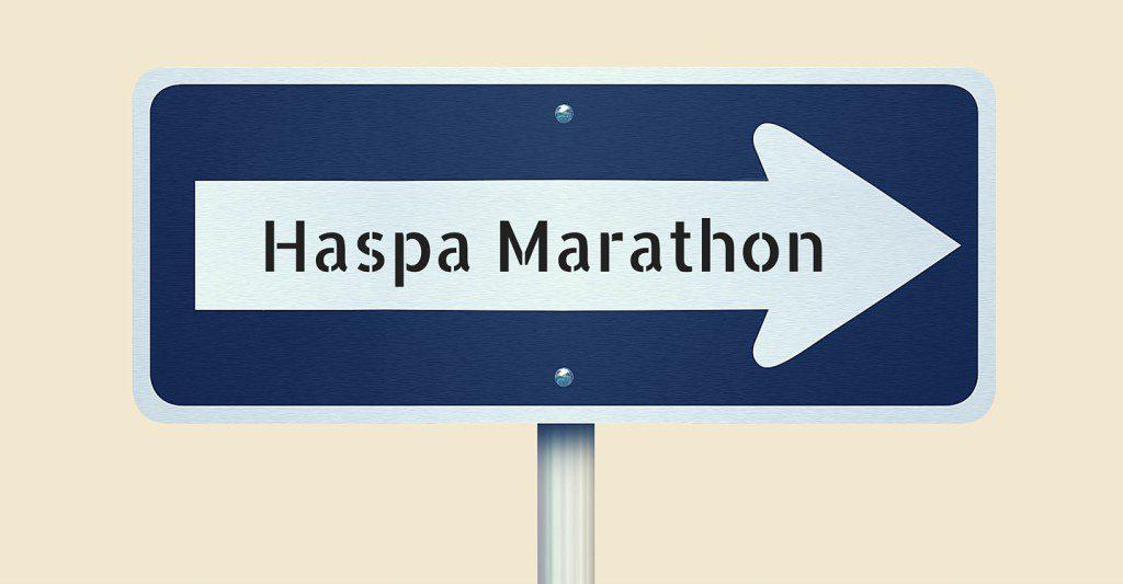 Haspa Marathon, Twitterlauftreff, Laufen, Wettkampflanung