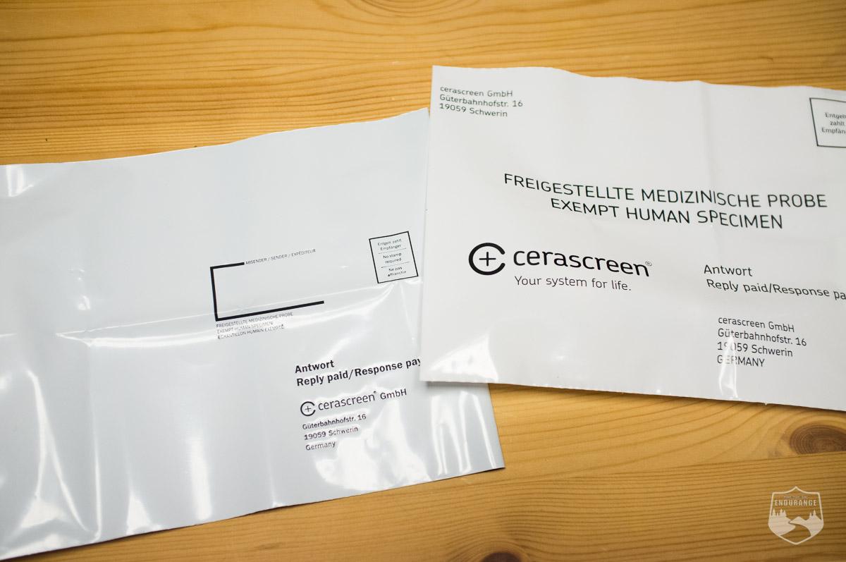 Versand, Porto, Umschlag, Test, Vitamin D-Test, Eisenmangel