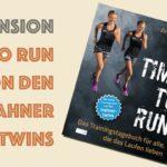 Rezension Time to Run – Das Trainingstagebuch für alle die das Laufen lieben