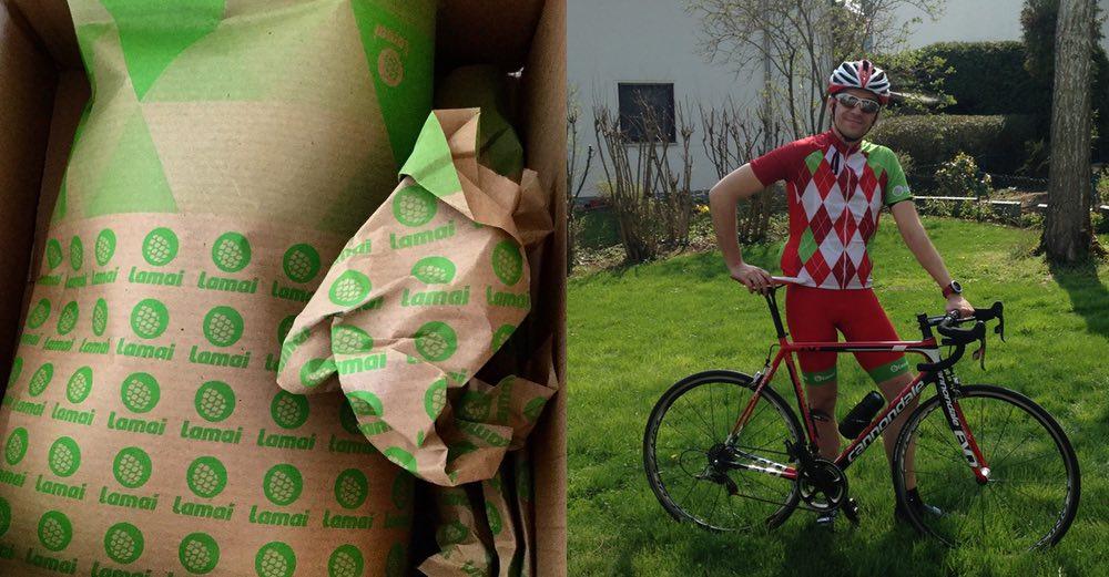 Lamai Radbekleidung, Jersey, Radhose, Cycling Kit