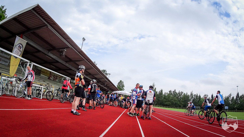 Euregio Radl Tour, RTF, Rennrad, Bayern, Hof, Oberfranken, Hochfranken, Stadion, Laufbahn, Ossecker Str.