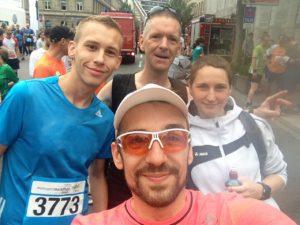 Startaufstellung, Twitterlauftreff, Tweet up, Laufen, Twitter, Fürth, 10K, Halbmarathon
