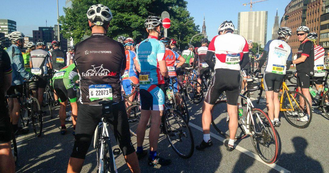 Cyclassics, Hamburg, 2016, Rennrad, Jedermannrennen, Radrennen, Startblock
