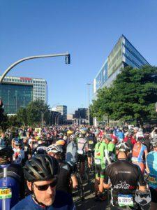 Cyclassics, Hamburg, 2016, Rennrad, Jedermannrennen, Radrennen, Start, Hafencity, Strecke