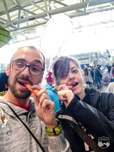 Frankfurt Marathon, Marathonmesse, Möhre, Katrin Schneider,